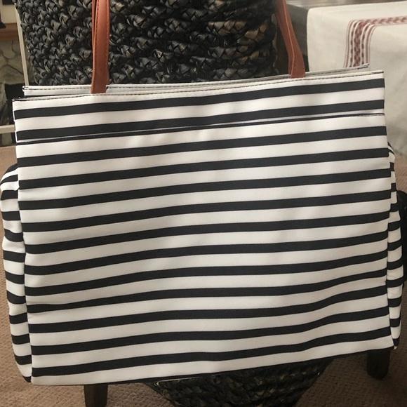 DSW Handbags - Striped Tote Bag